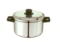 Pot With lid, Bakelite handles