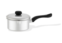 <strong>Saucepan with lid, Bakelite handle</strong>