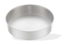 Round baking oven tray